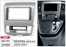 Car Stereo Radio Fascia Panel 2Din Frame Kit for TOYOTA Alphard 2002-2007 11-605