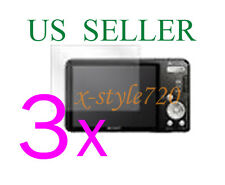 3x Clear LCD Screen Protector Guard Cover Film For Sony CyberShot DSC-W570