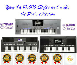 Tyros 2 Professional 10,000 Styles and Midis USB plug and play
