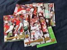 1992 Pro Set Gold MVPs Complete 15 Insert Card Set - John Elway