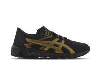 Asics Quantum UK Size 9 Men's Trainers Black Gold Running Shoes