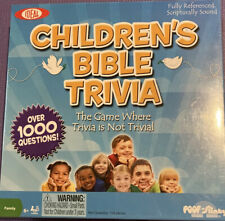 Ideal 2011 Children's Bible Trivia Game - Brand New Sealed