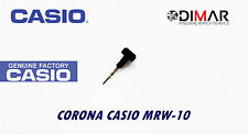 CASIO CORONA/ WATCH CROWN, PARA MODELOS. MRW-10 BLACK