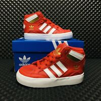 Adidas Hard Court Hi I (Toddler's Size 5) Red Athletic Casual Sneakers Shoes