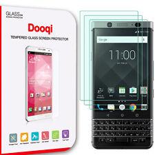 3X Dooqi Blackberry Keyone Premium Ultra Clear Tempered Glass Screen Protector