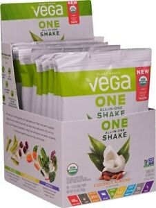 Vega One Organic Plant Protein Powder Coconut Almond 10 Packs Count