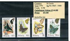 World Stamps Thematics - Butterflies & Moths - Lepidoptery - Sets - 1985 onwards