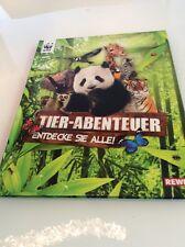 Rewe WWF Tier - Abenteuer Sammelalbum komplett top Tierabenteuer lehrreich toll