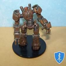 Clockwork Golem - Dungeons Deep #41 Pathfinder Battles D&D Rare Miniature
