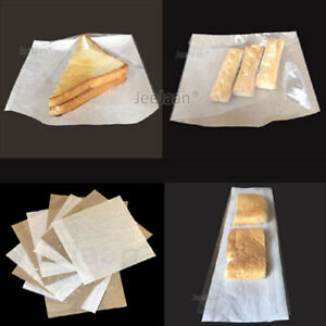 FILM FRONT PAPER BAGS CELLOPHANE CLEAR WINDOW SANDWICH BAGS FOOD CARD CAKE CHEAP