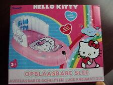 Hello Kitty 1 x aufblasbarer Schlitten mit Rückenlehne NEU/OVP Winterspaß
