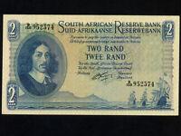 South Africa:P-104b,2 Rand,1962-5 * Jan van Riebeeck * UNC *