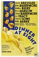 Multiple Sizes JEAN HARLOW Poster Vintage Hollywood DINNER AT EIGHT 2