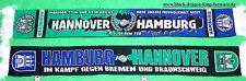 """Hamburg Hannover Freundschafts-Schal """"IM KAMPF"""" Ultra Fan Elbe Kurve +neu+"""
