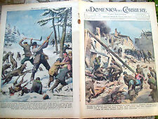 3) 1939 DOMENICA DEL CORRIERE VITTORIA IN CATALOGNA CONTRO COMUNISTI E POLONIA