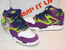 ff273a28d06 Style  Basketball Shoes. New Reebok Pump Omni Lite X ATMOS  Plum White Jasmine Green