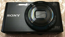 "Sony Cyber-shot DSC-W830 20.1MP Compact Digital Camera - Black 8x Zoom 2.7"" LCD"