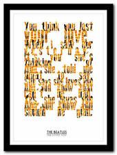 The Beatles Music Memorabilia Posters (1960s)