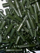 15 x WEED GREEN LEAD SAFTEY CLIPS FOR CARP BARBEL FISHING