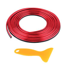 Car Vehicle 5M Interior Moulding Trim Strip Decorative Line Red Universal