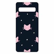 For Samsung Galaxy S10 Silicone Case Cute Cat Pattern - S5197