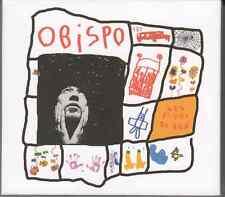 2 X CD ALBUM DIGIPACK AVEC POSTER OBISPO *LES FLEURS DU BIEN*