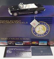 FRANKLIN MINT 1964 PONTIAC GTO CONVERTIBLE L.E 2839/3000 1/24 SCALE DIE CAST NIB
