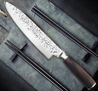 "8-Inch Chef Knife Stainless Steel Blade Salmon Sushi Razor Tuna Fish Cut Meat 8"""