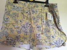 Primark Floral Plus Size Shorts for Women