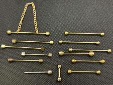 Body Jewelry Assortment 0.14-1.67Kt Gold Plated