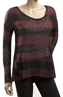 Womens ATMOSPHERE Striped Long Sleeve Thin Knit Jumper  UK Size 6 8 10 12 14 18