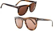 Authentic NEW Italy DOLCE & GABBANA D&G men DNA round Striped tobacco Sunglasses