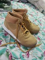Nike Hoodland Suede Men's Boots Haystack-Sail-Brown 654888-727 Size 12