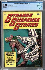 Strange Suspense Stories #1 Golden Age