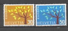 EUROPA 1962 Suisse - Switzerland neuf ** 1er choix