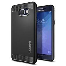 Custodia Samsung Galaxy S7 Edge Spigen Rugged Armor Black Protezzione urti