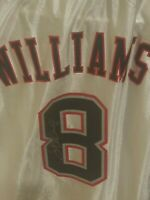 deron williams signed jersey autographed promo size XL auto nba nets #8 8