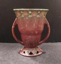 """Roseville Ferella Red Vase 502-6"""" - MINT"""