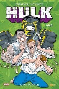 COMICS MARVEL - HULK, L'INTEGRALE 1989 / DAVID, PURVES, PANINI, NEUF