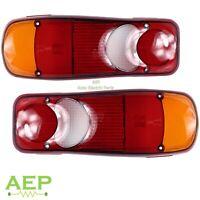 Rear Light Lamp Lens Set For Peugeot Boxer 2006 - 2020
