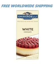 Ghirardelli Premium Baking Bar White Chocolate 4 Oz WORLDWIDE SHIPPING