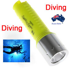 1600lm Cree Xm L T6 Diving Torch Lamp Led Waterproof 60m scuba boat water fi