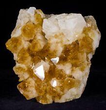 Citrine Crystal Geode Cluster Quartz Druzy Specimen Brazil