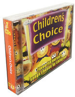 Children's Choice 2CDs.  Favourite nursery songs and rhymes chosen by kids *NEW*