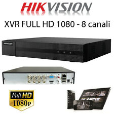 Videoregistratore DVR XVR HIK VISION 8 canali full hd 1080p ahd hdcvi tvi qualit
