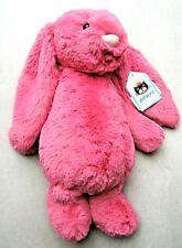 Jellycat Medium Bashful Strawberry Bunny Rare Retired BNWT