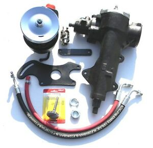 65 66 67 68 69 70 71 72 73 74 75 76 77 Ford F-100 F-250 Truck Power Steering Kit
