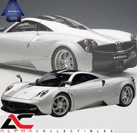 AUTOART 78266 1:18 PAGANI HUAYRA SILVER SUPERCAR DIECAST CAR
