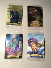 Harry Potter Set Of Four Brand New Lenticular Chocolate Frog Cards