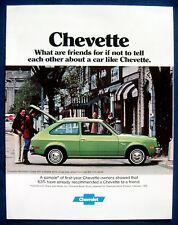 Prospekt brochure 1977 Chevrolet Chevy Chevette (USA)